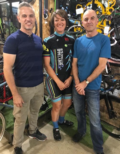BiciSport Happy Wheels Waterloo Christmas Party @ 7 Dec - Karl Hoad, Ruth Strapp & Sean Mura