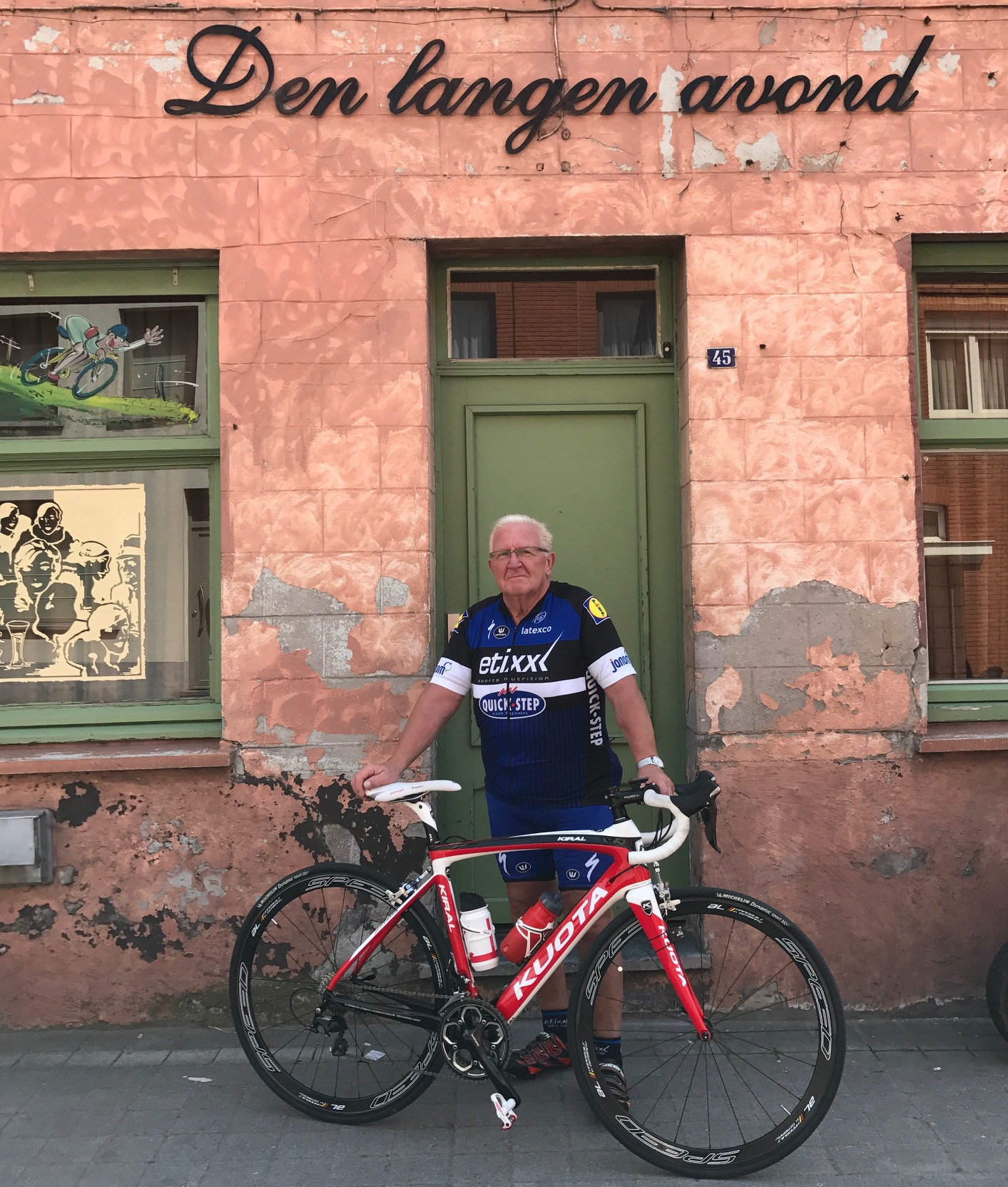 Noel La Rose (BiciSport Master) turns 81 years young & is celebrating the occasion - meeting point is the corner of Shorelink Drive & Walker Street Rhodes Point (near Moorebank Bridge). Ride is laps around SOPA. For details contact Mike O'Reilly on 0417 403 244