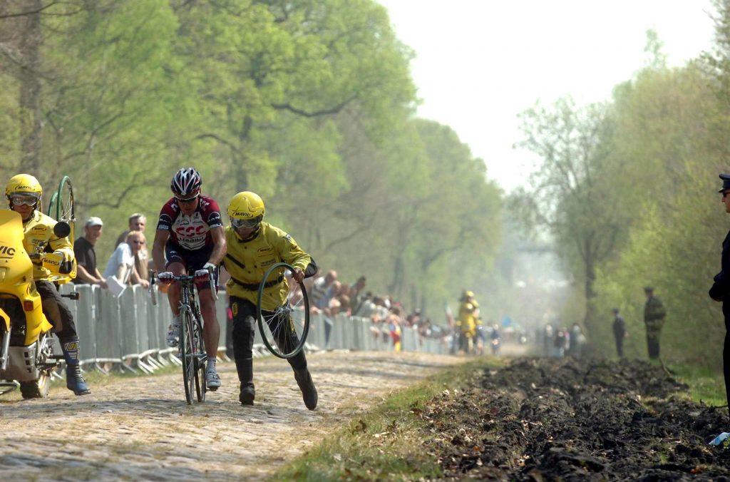 Stuart O'Grady & Wallers Arenberg Forest @ Paris Roubaix