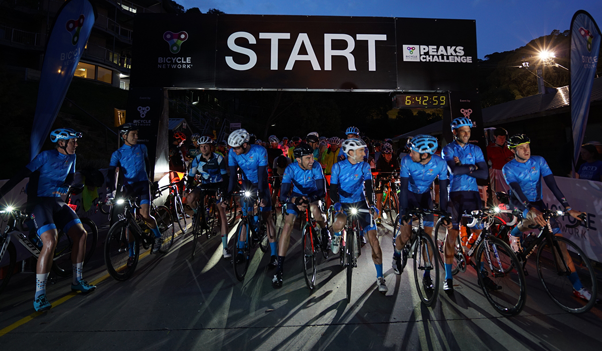 3 Peaks Challenge is on 10 March starting from Falls Creek - the BiciSport starter is Michael Taylor