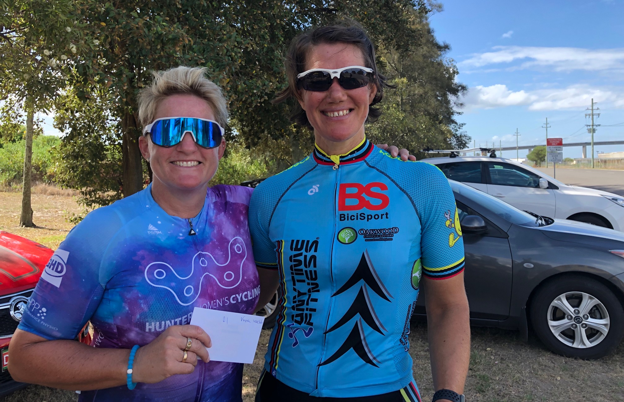 Kooragang Island Newcastle @ 2 Mar - Ruth Strapp (BiciSport) took the win in the Womens Road Race organised by Newcastle Cycling Club with 14 starters. Ruth broke away with 3.5k to the finish with Olivia Gollan, and Ruth took the victory.