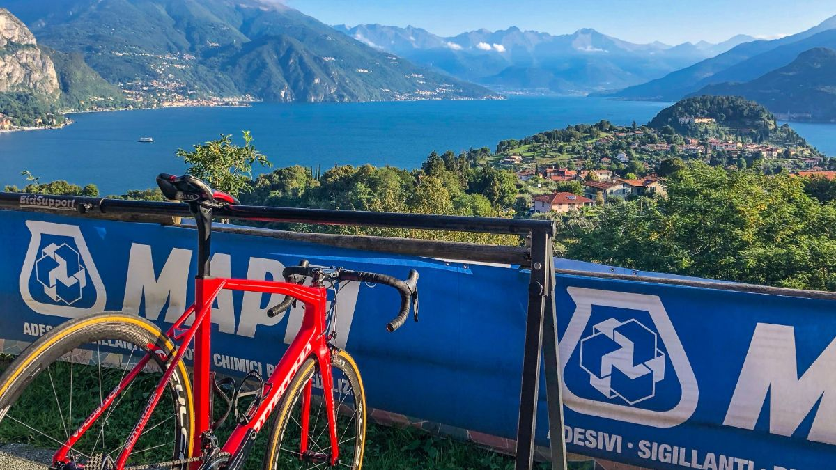 After the Eroica Challenge on 10 March Mike Lawson & the BiciSport Team head to Bellagio on Lake Como with Milan San Remo on the agenda for 23 March. Alberto Elli (2000 Tour de France Yellow Jersey) is the BiciSport ride guide at Bellagio & the Milan San Remo