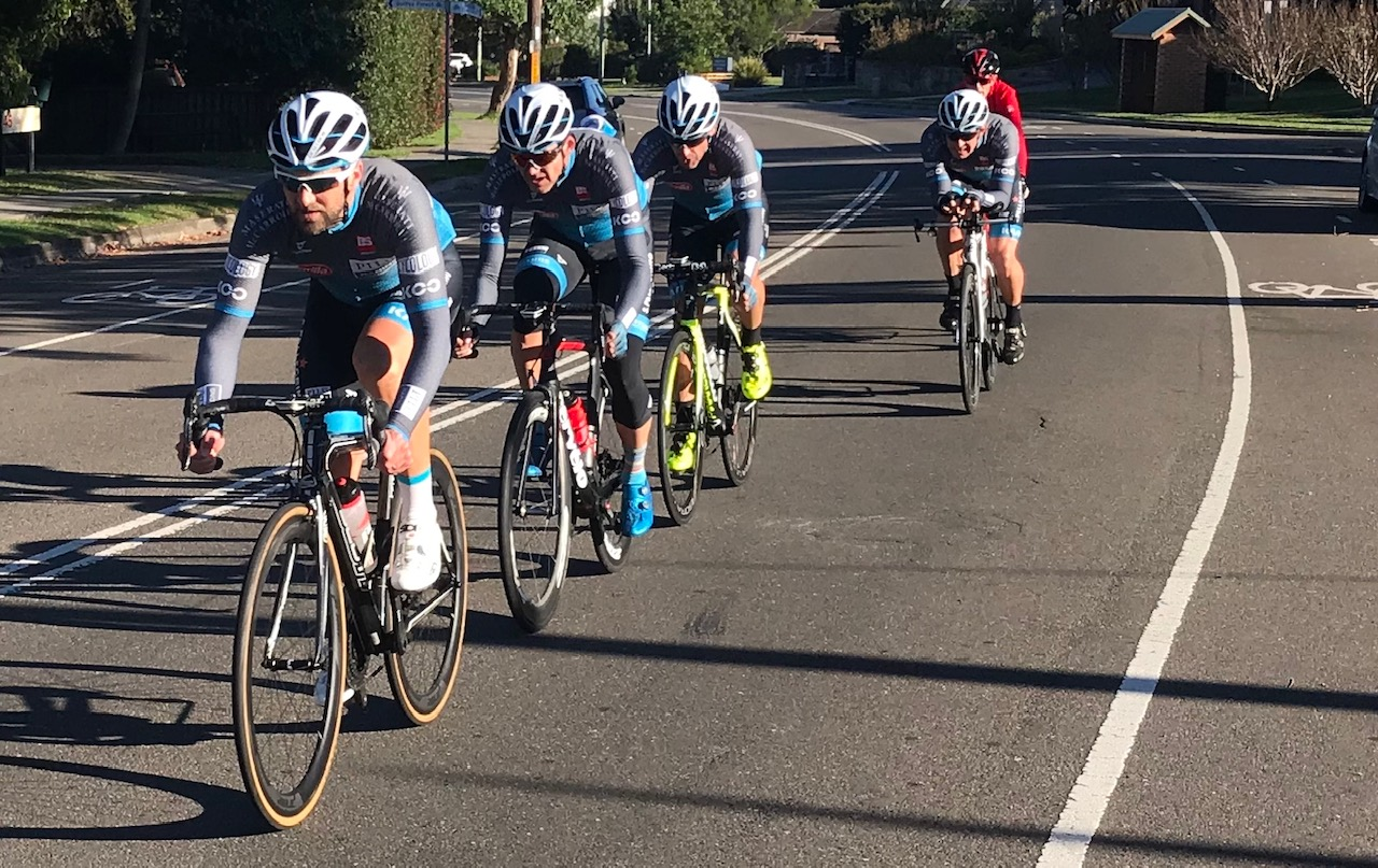 BiciSport TTT training @ Terrey Hills @ 28 April  - BiciSport Pilu Racing