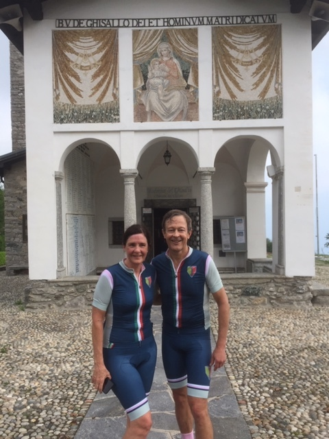 Madonna Del Ghissalo Church @ Lake Como Italy @ 6 June - Sarah & Derek Culey