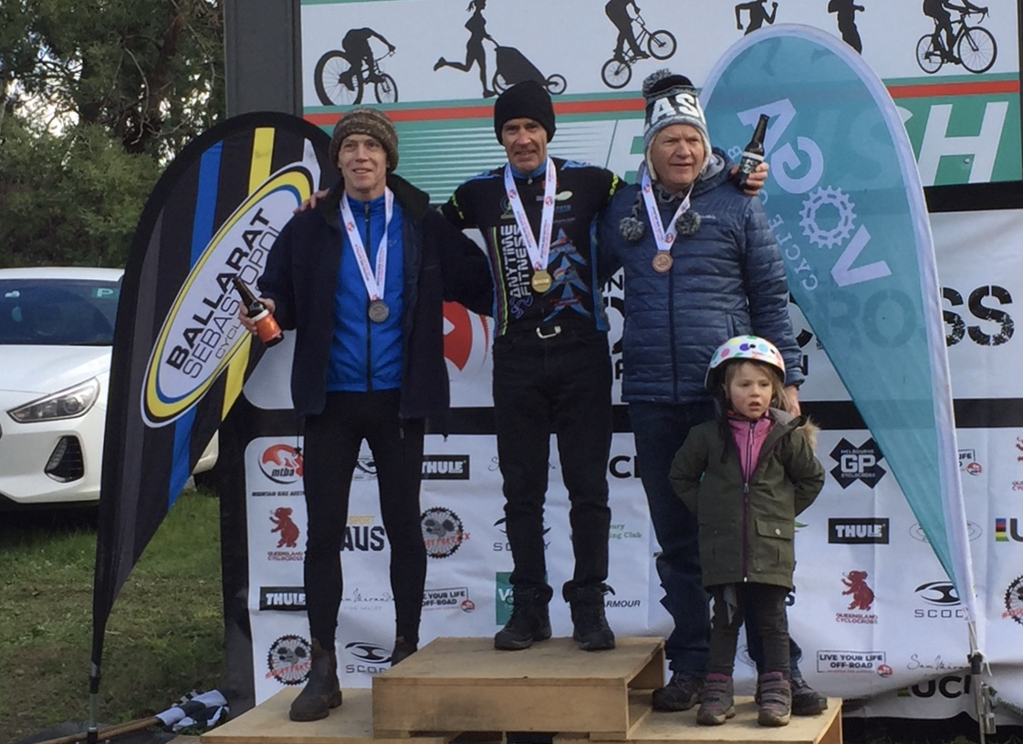 National Cyclo Cross Series Rounds 3 & 4 @ Ballarat @ 22-23 June - Mike Lawson (BiciSport Anytime Fitness) takes 2 wins in 2 days. Well done Mike.