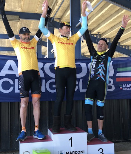 Cervelo Masters @ Eastern Creek @ 14 July - IL Presidente Ian Grainger took 3rd place in the overall Cervelo Series (Division 5)