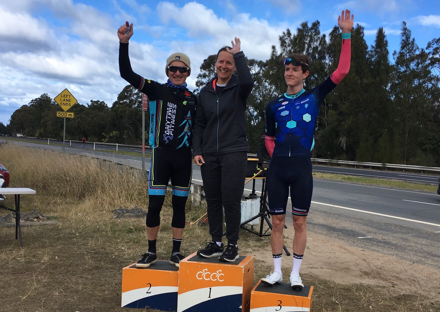 Calga 100k Handicap @ 11 August - Eric Dole took 2nd in very cold & windy conditions