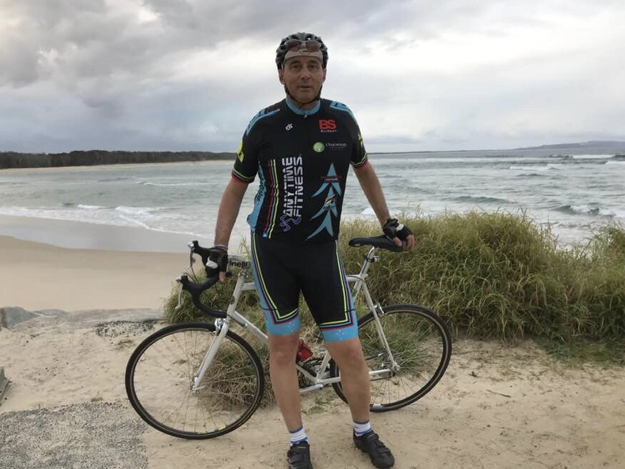 Strade Bianche @ Noosa @ 11 August - Frank Signor chasing the perfect wave on the Sunshine Coast
