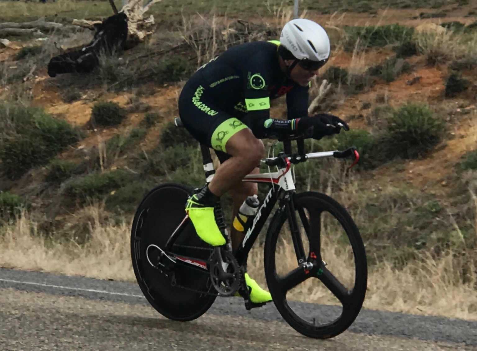 Masters ITT Championships @ Gunning @ 7 Sept - Dom Zumbo on a cracking ride for a strong 8th place in M6