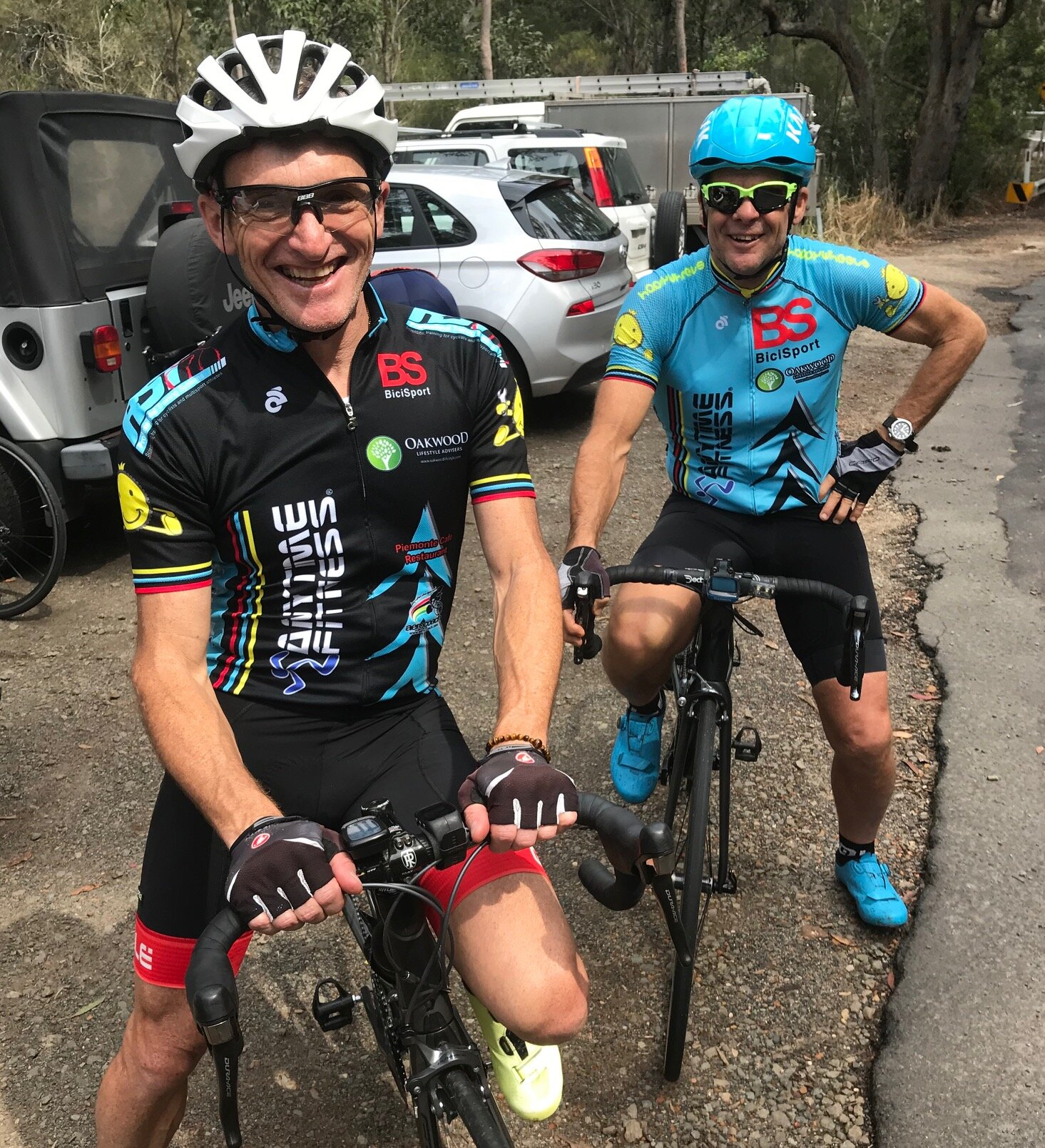 Eric Dole & Marty Wright @ 21 Sept @ the Ku Ring Gai Chase National Park near McCarrs Creek Rd