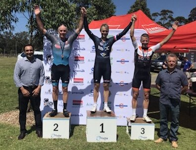 NSW Masters Criterium Championships @ Coffs Harbour @ 22 Sept - Matt Coy takes the Silver medal in the M6 Criterium