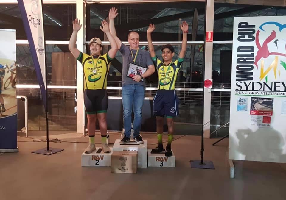 RAW Track @ DGV @ 20 Sept - Davide van der Browne (BiciSport Happy Wheels) takes the Division 2 Pointscore award