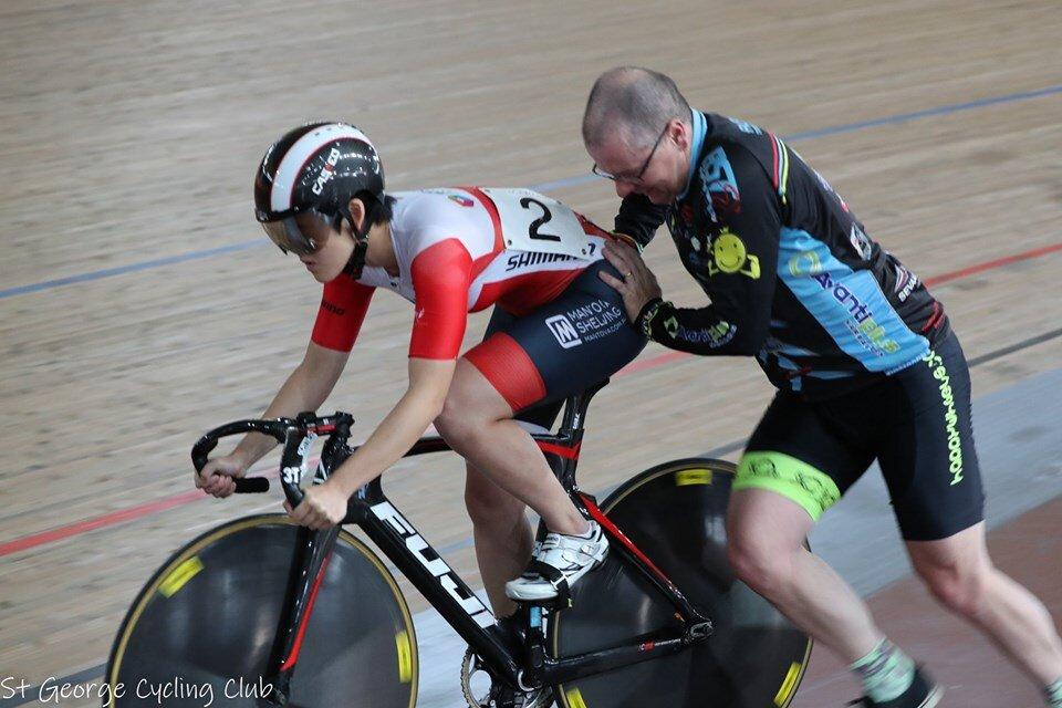 NSW Sprint GP #1 @ DGV @ 5 Sept - Davide van der Browne does some cross training at DGV