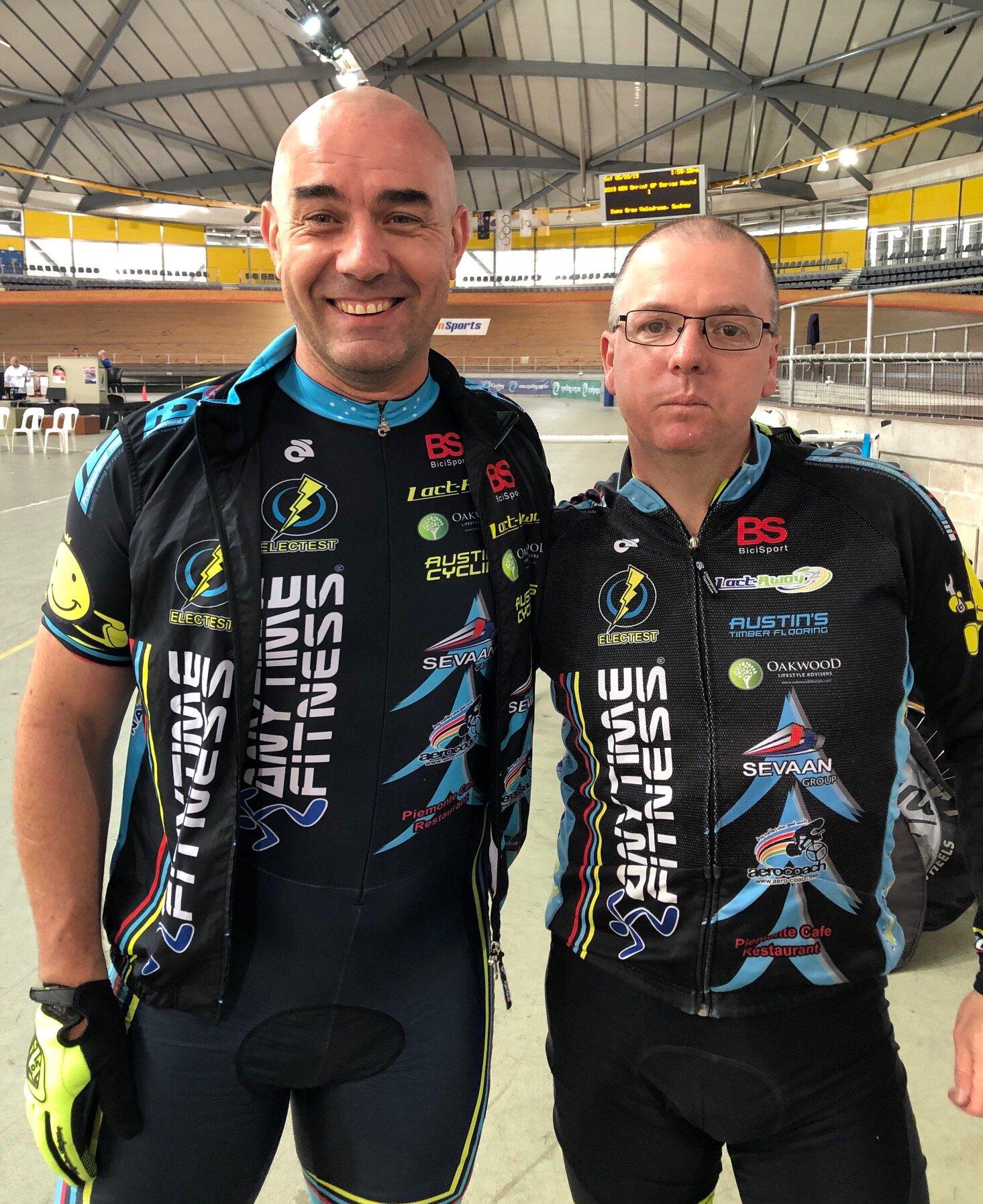 NSW GP 1 @ DGV @ 5 Sept - Damien Bottero & Davide van der Browne