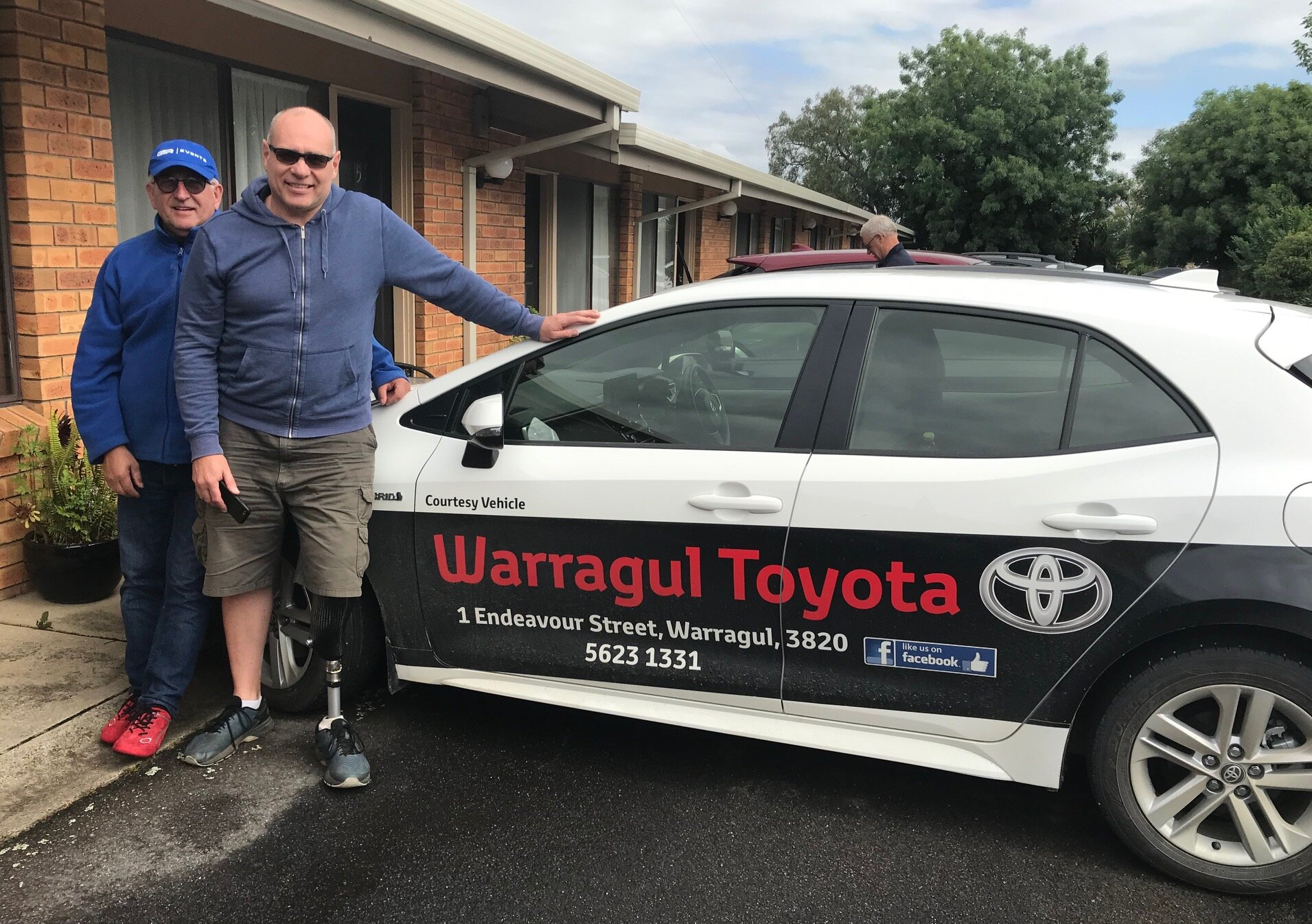Tour of Gippsland @ 26 Oct - Warragul Toyota kindly sponsored the three day NRS Tour and supplied the convoy vehicles for Mike O'Reilly & Alex Simmons