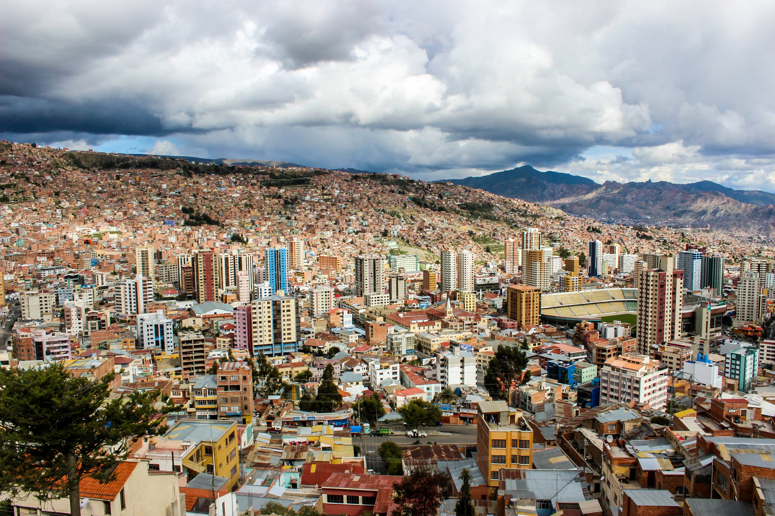 At 3650 metres above sea level, La Paz, Bolivia, is the worlds highest administrative capital (technically, the capital of Bolivia is Sucre).   To deal with the altitude, locals and tourists chew or make tea from coca leaves. The same plant used to manufacture cocaine. In most countries outside of South America, possession of coca leaves are illegal.   However, the plant is prominent in traditional Andean cultures. Coca leaves do not give the high people experience with cocaine, and it used for medicinal and nutritional purposes. Bolivian President Evo Morales is an outspoken advocate for the global legalisation of the plant.   Fun-fact: the original recipe of Coca Cola contains coca leaves.