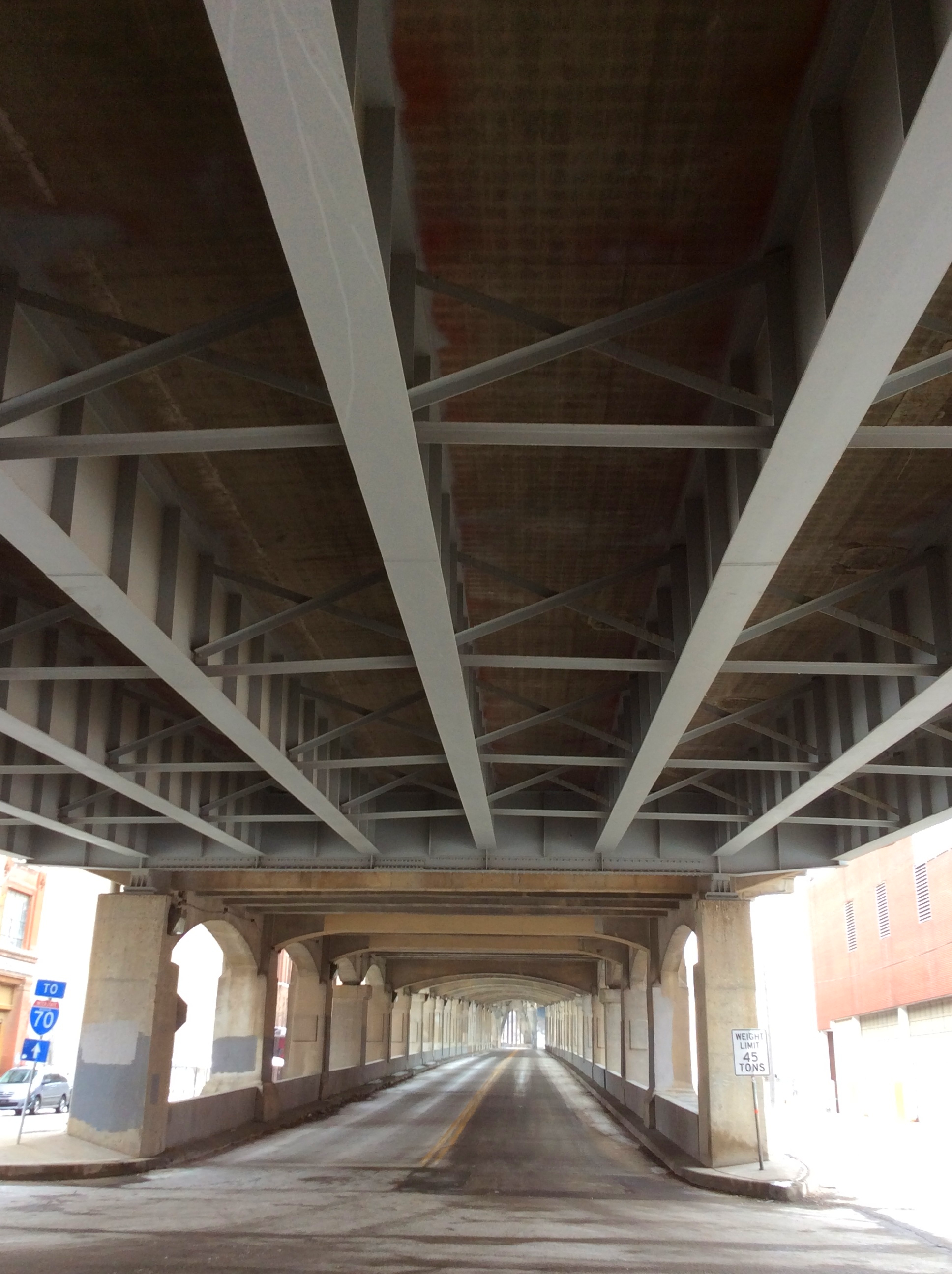 Underpass in the West Bottoms of Kansas City