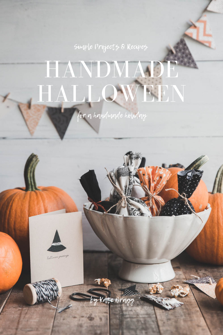 Handmade Halloween - Get my FREE Halloween ebook with simple projects and recipes for a homemade holiday.
