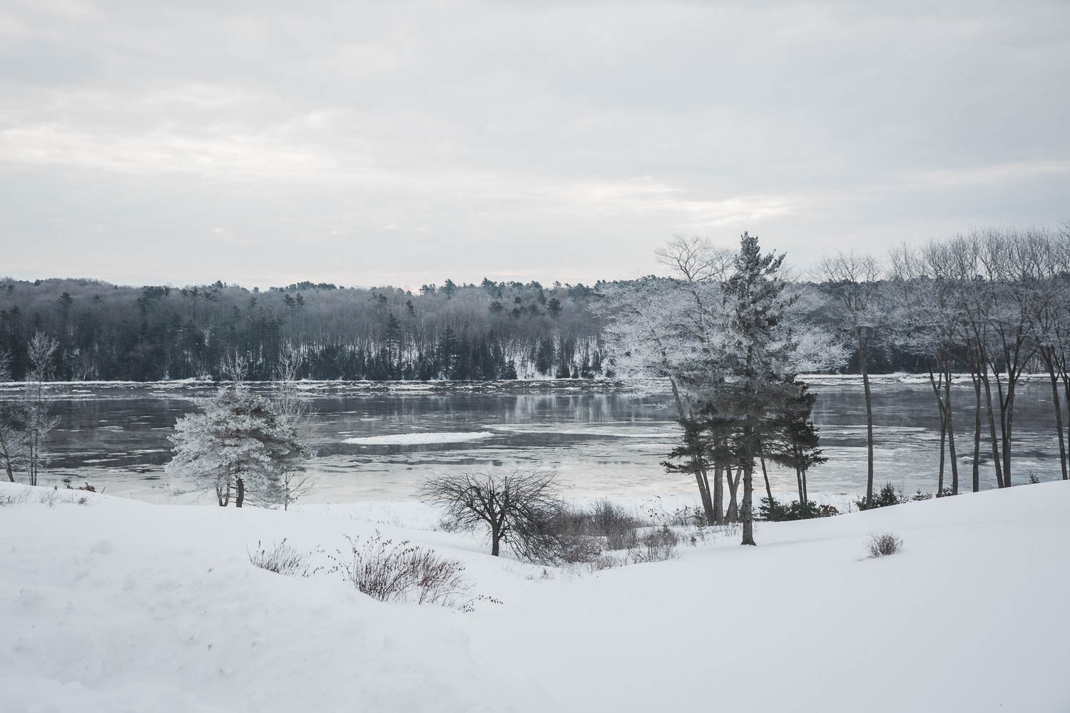 January on the Penobscot