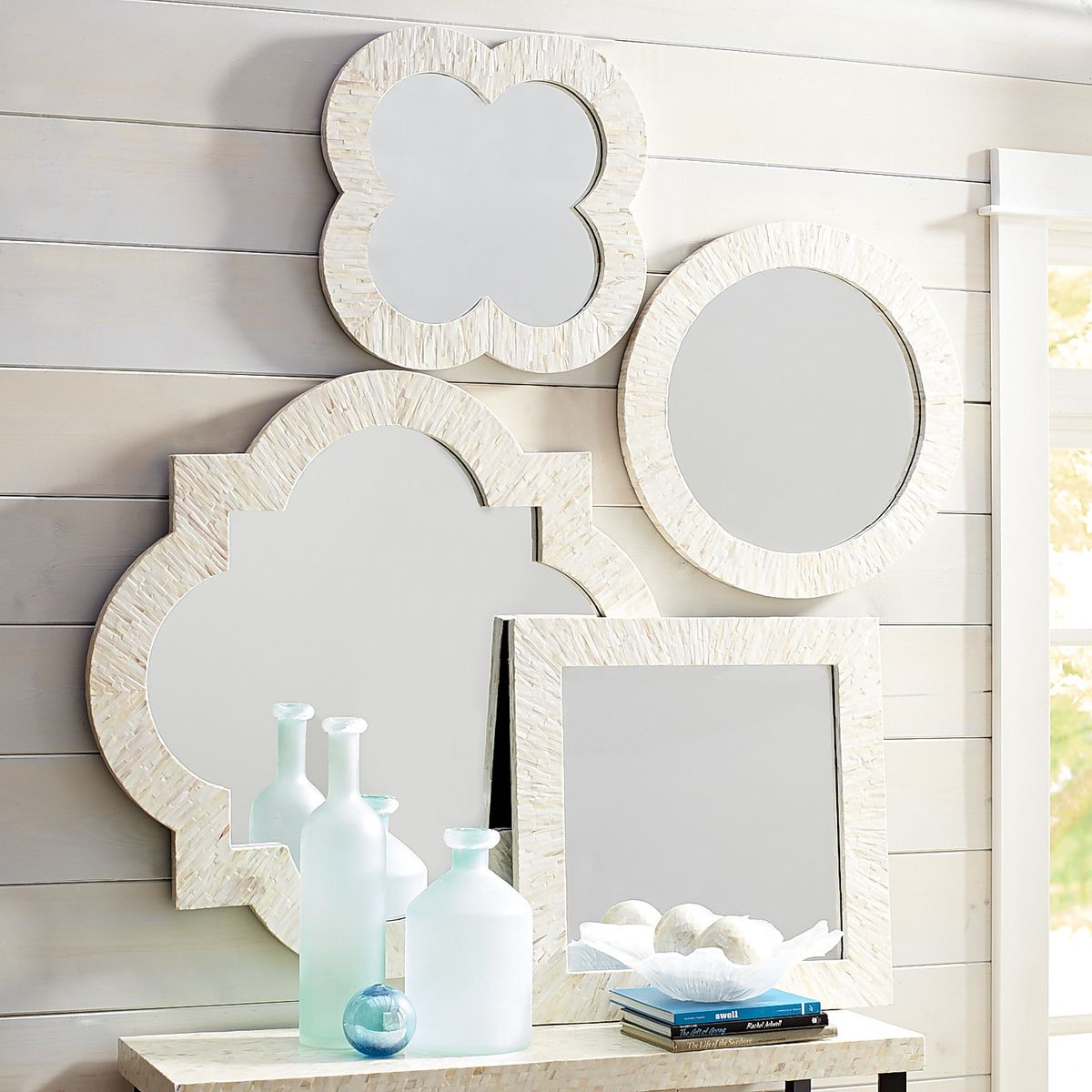 Mother of Pearl Mirror Set from Pier 1 Imports