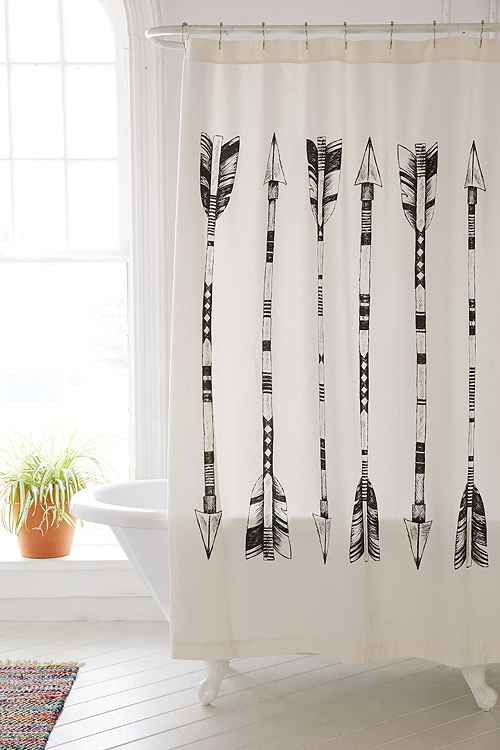 4040 Locust Black & White Arrows Shower Curtain from Urban Outfitters.jpg