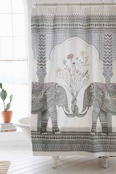 Magical Thinking Elephant Shower Curtain from Urban Outfitters.jpg