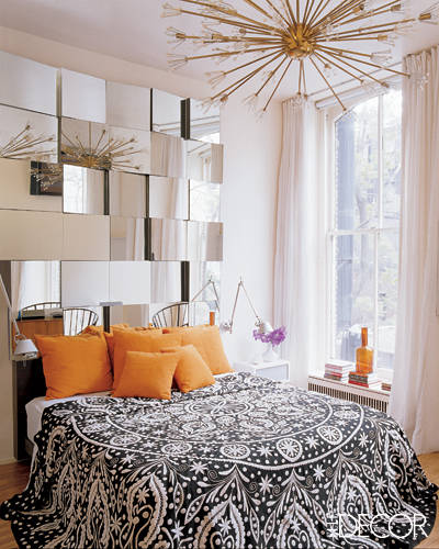 Tiled Mirrors in Bedrooms