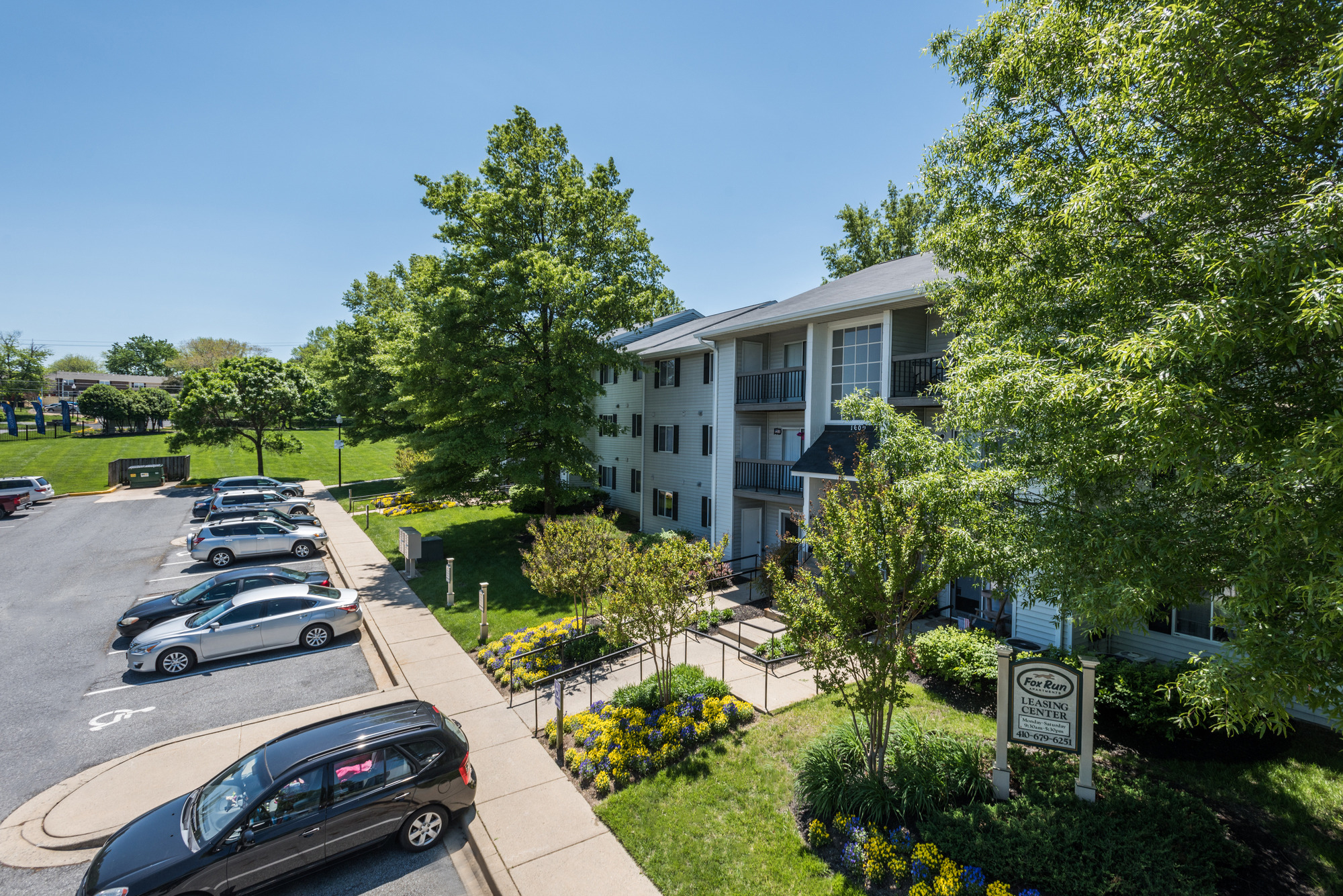 Fox Run Apartments in Edgewood, MD 21040:Apartment Community