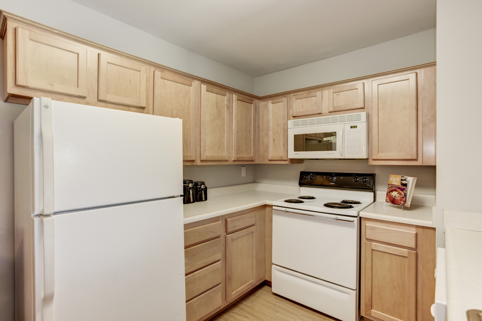 Fox Run Apartments in Edgewood, MD 21040:Fully Equipped Kitchen