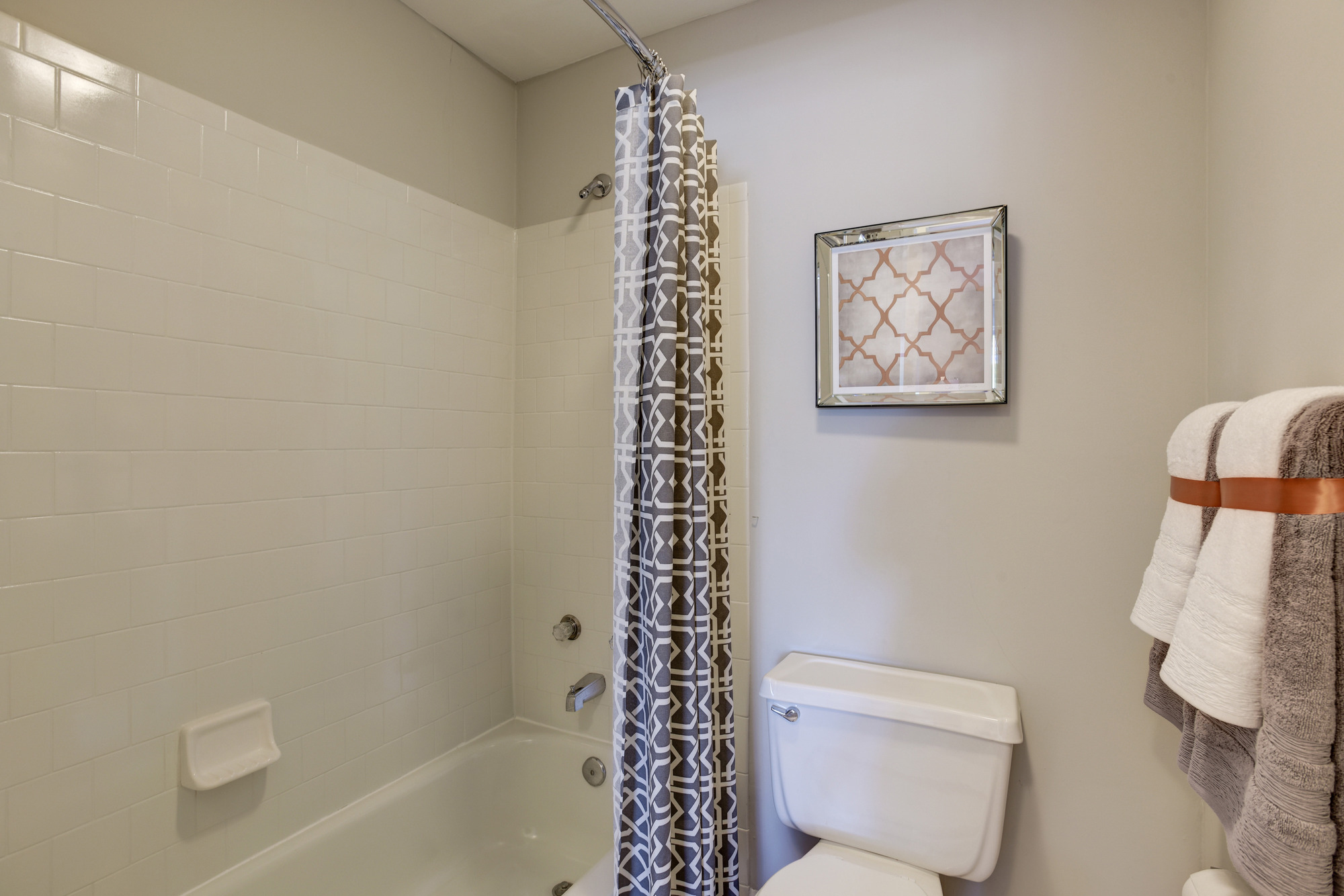 Master Bathroom at Fox Run Apartments in Edgewood, MD
