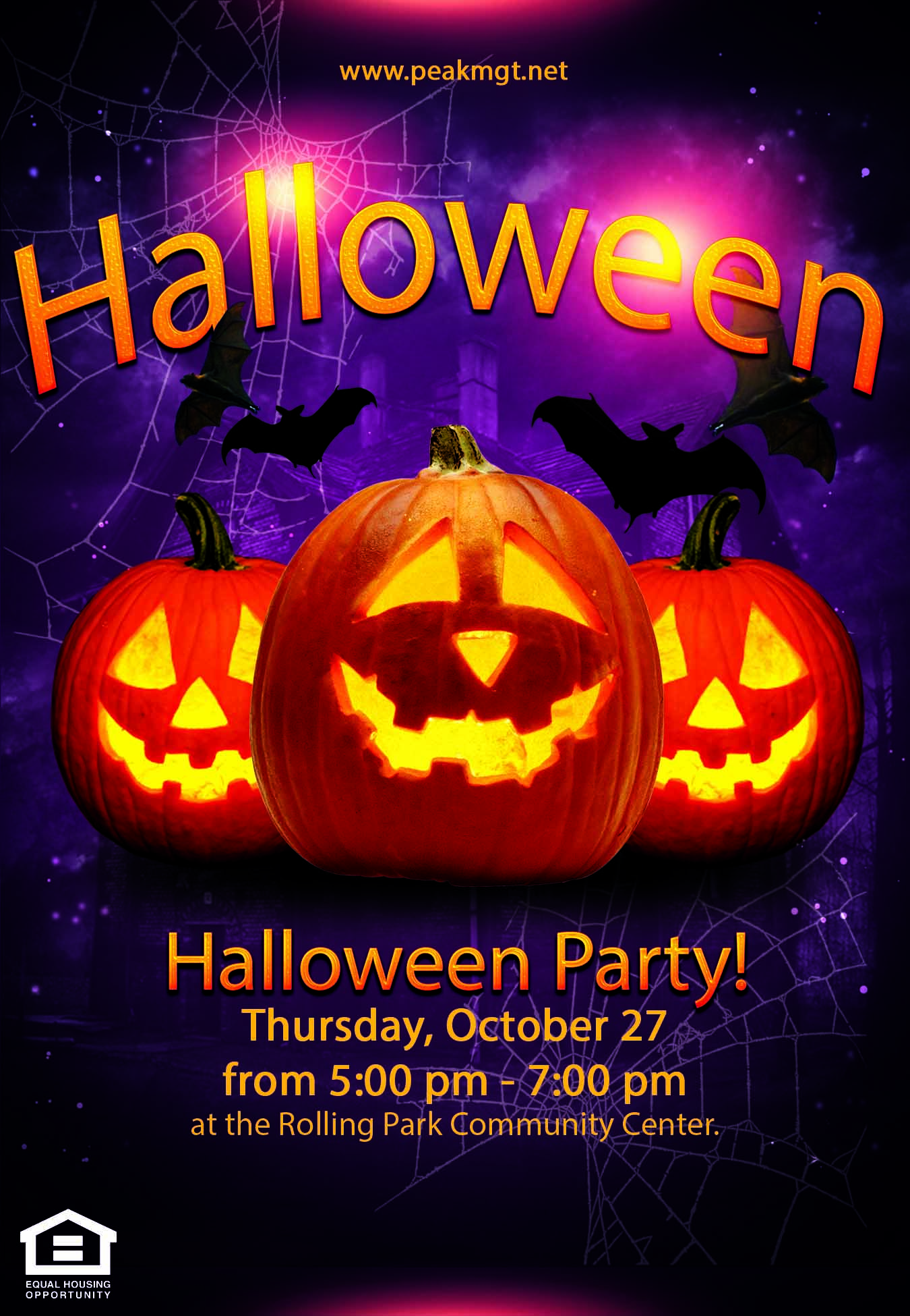 Rolling Park Apartments Halloween Party | Woodlawn, MD 21244