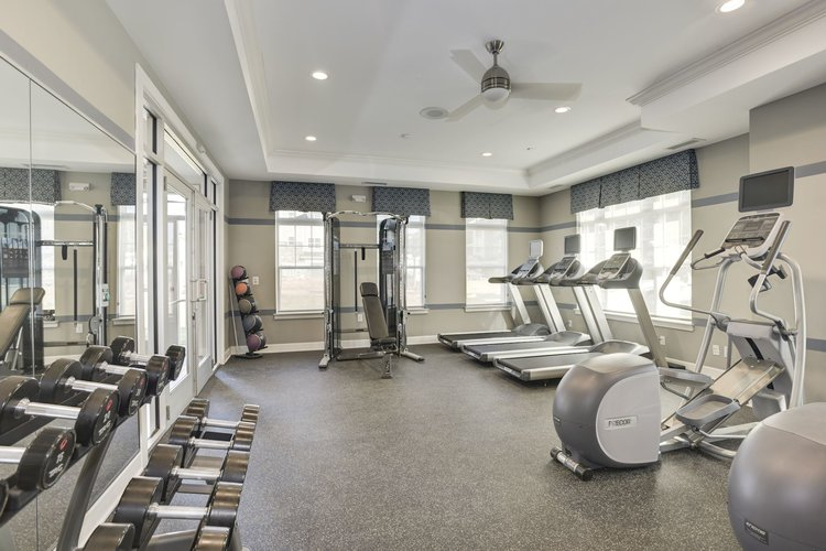 Avanti Luxury Apartments Fitness Center