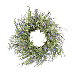 3 - Kirklands Lavender & Heather Wreath.jpg