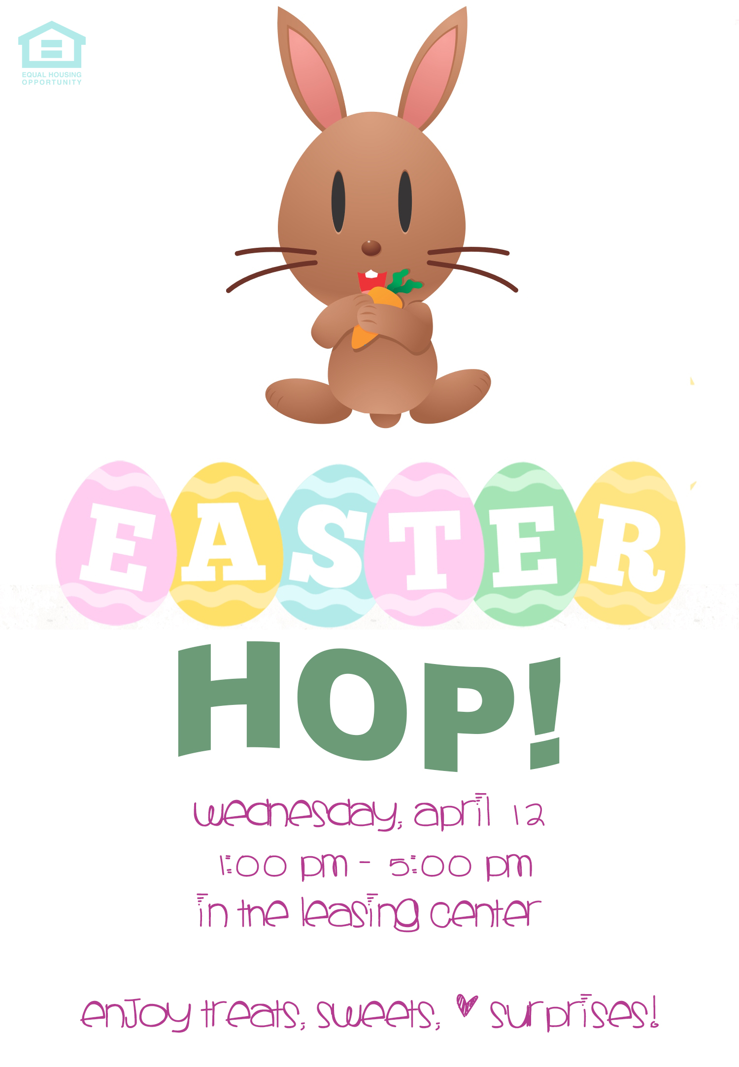 Easter at Hallfield Apartments & Olde Forge Townhomes in Nottingham, MD