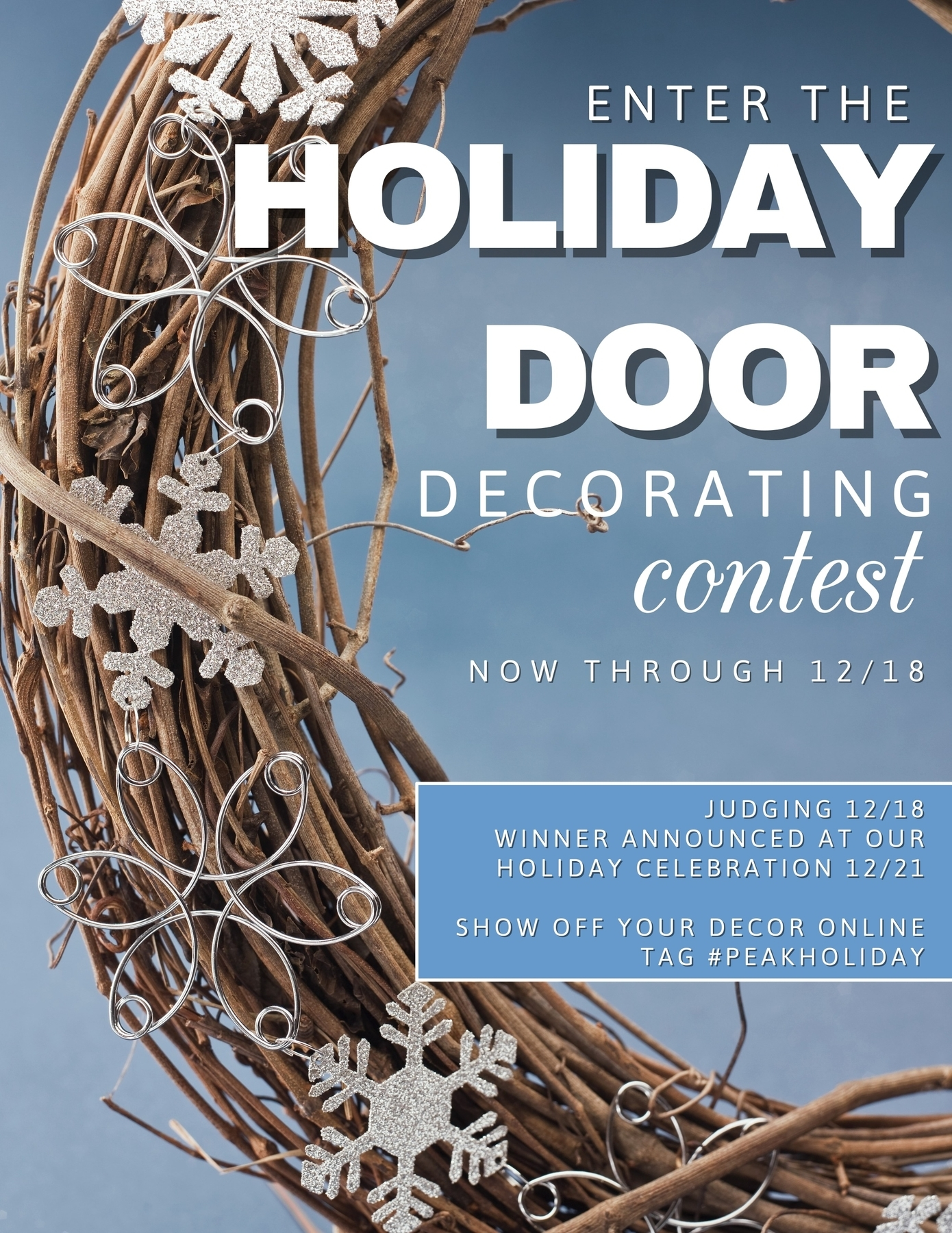 Door Decorating Contest at Satyr Hill Apartments