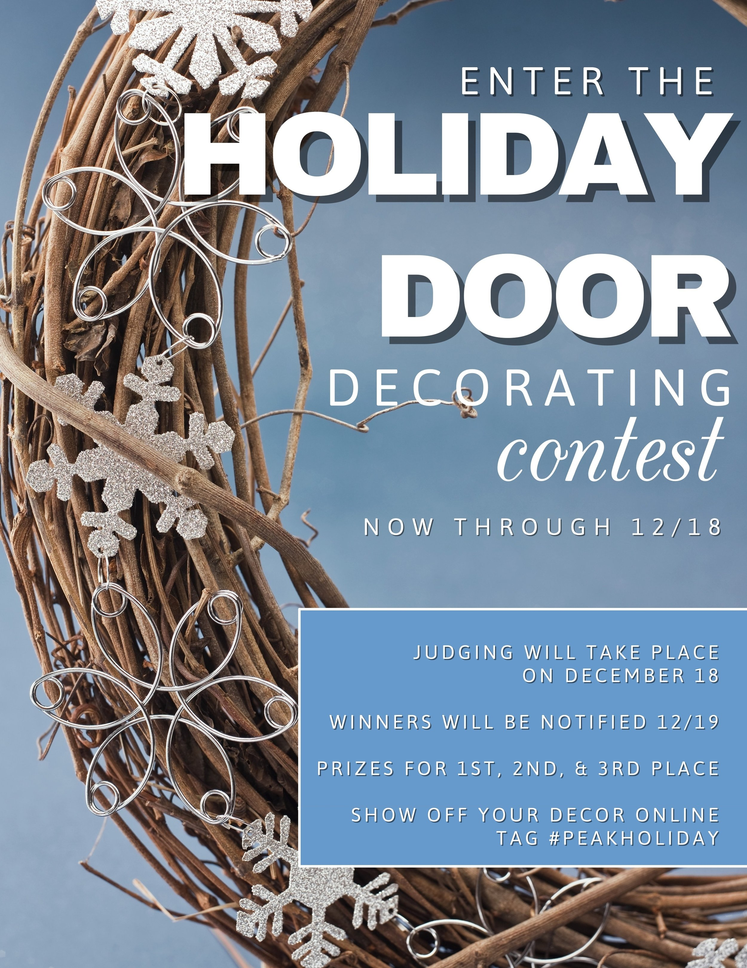 Door Decorating Contest at Tuscany Woods Apartments