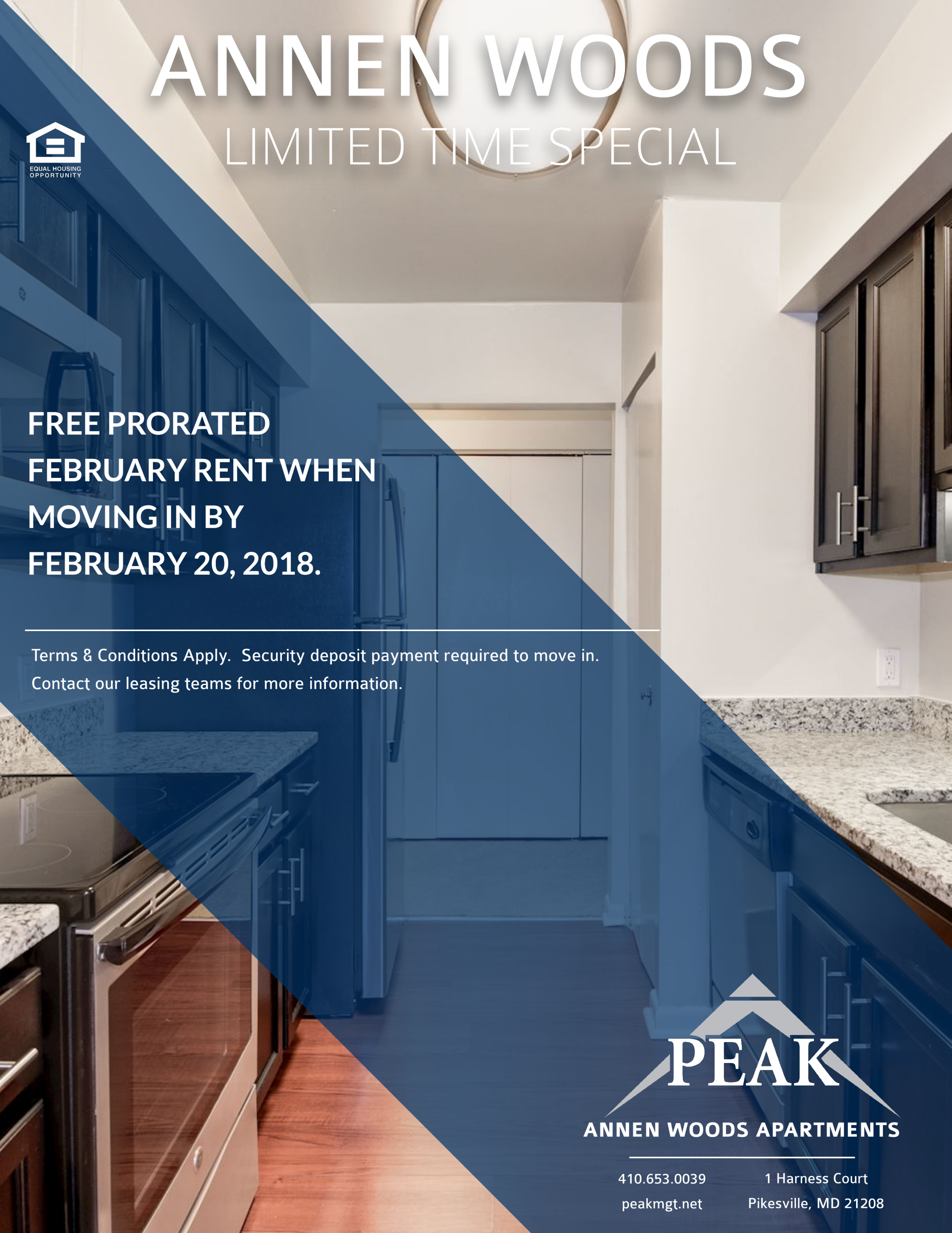 Annen Woods February Rent Promotion