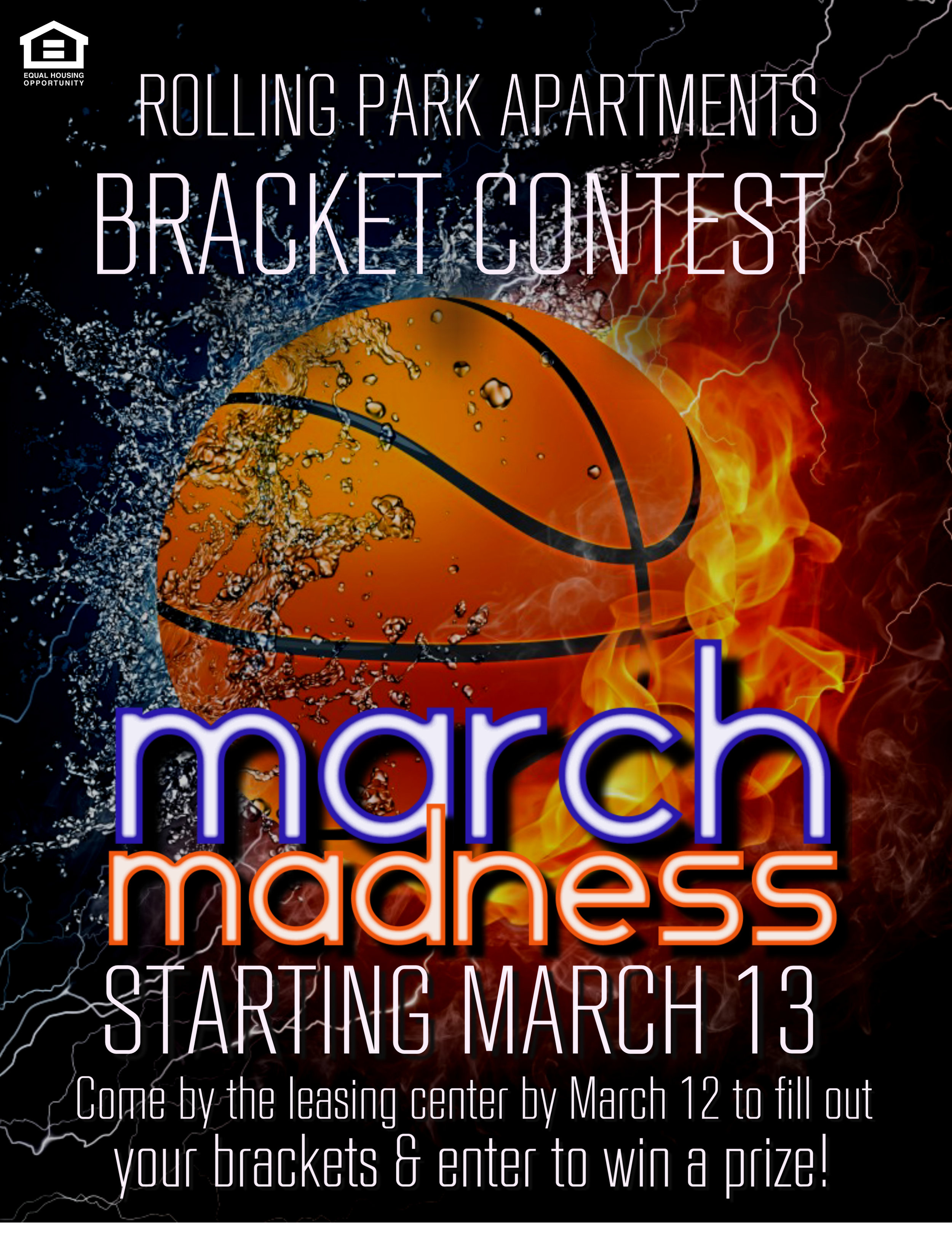 Rolling Park March Madness Contest 2018