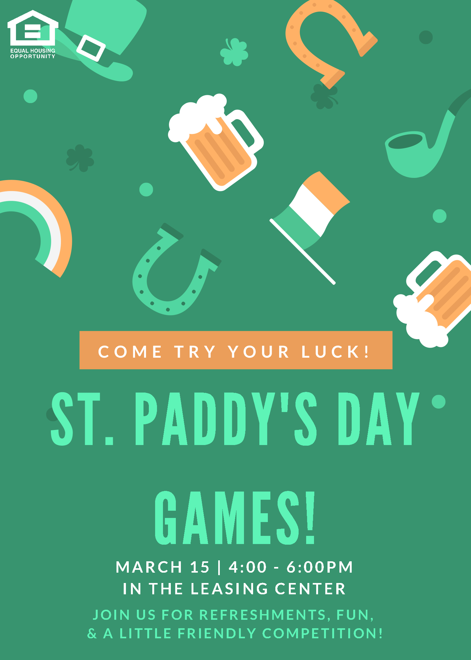 Fox Run Apartments - Edgewood, MD - St. Patty's Day Celebration