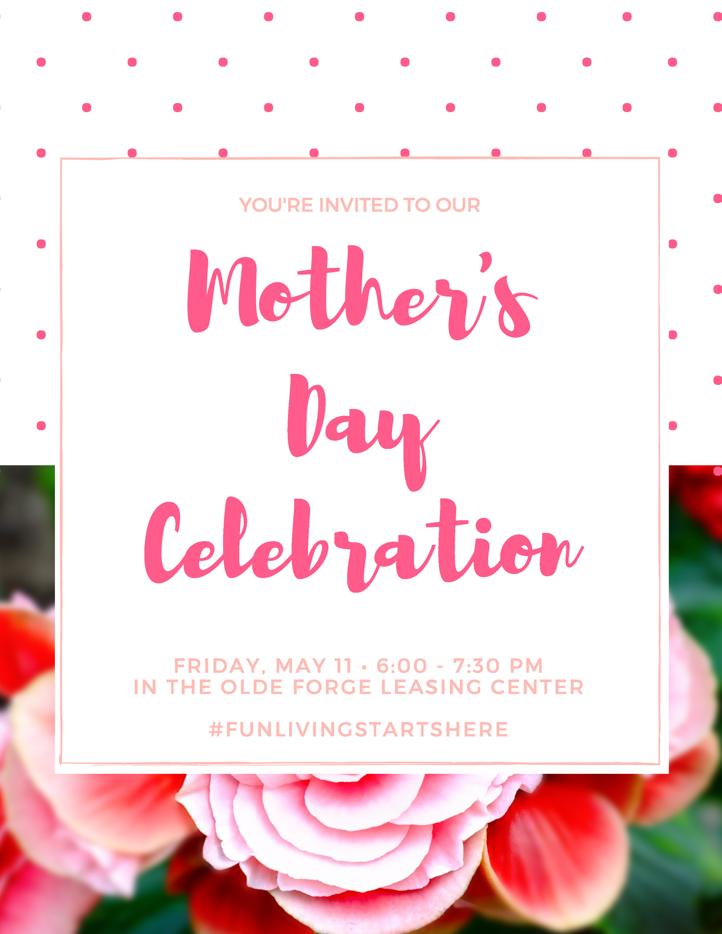 Mother's Day Celebration at Olde Forge & Hallfield in Nottingham, MD