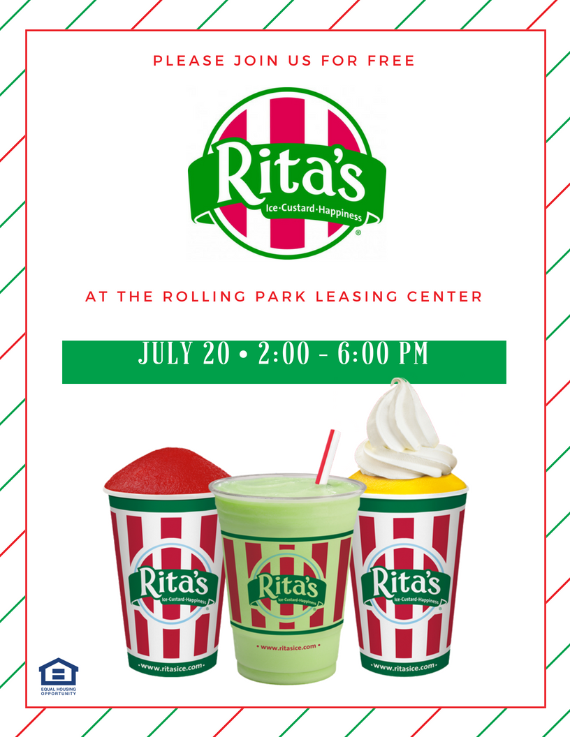 Rita's Italian Ice at Rolling Park Apartments