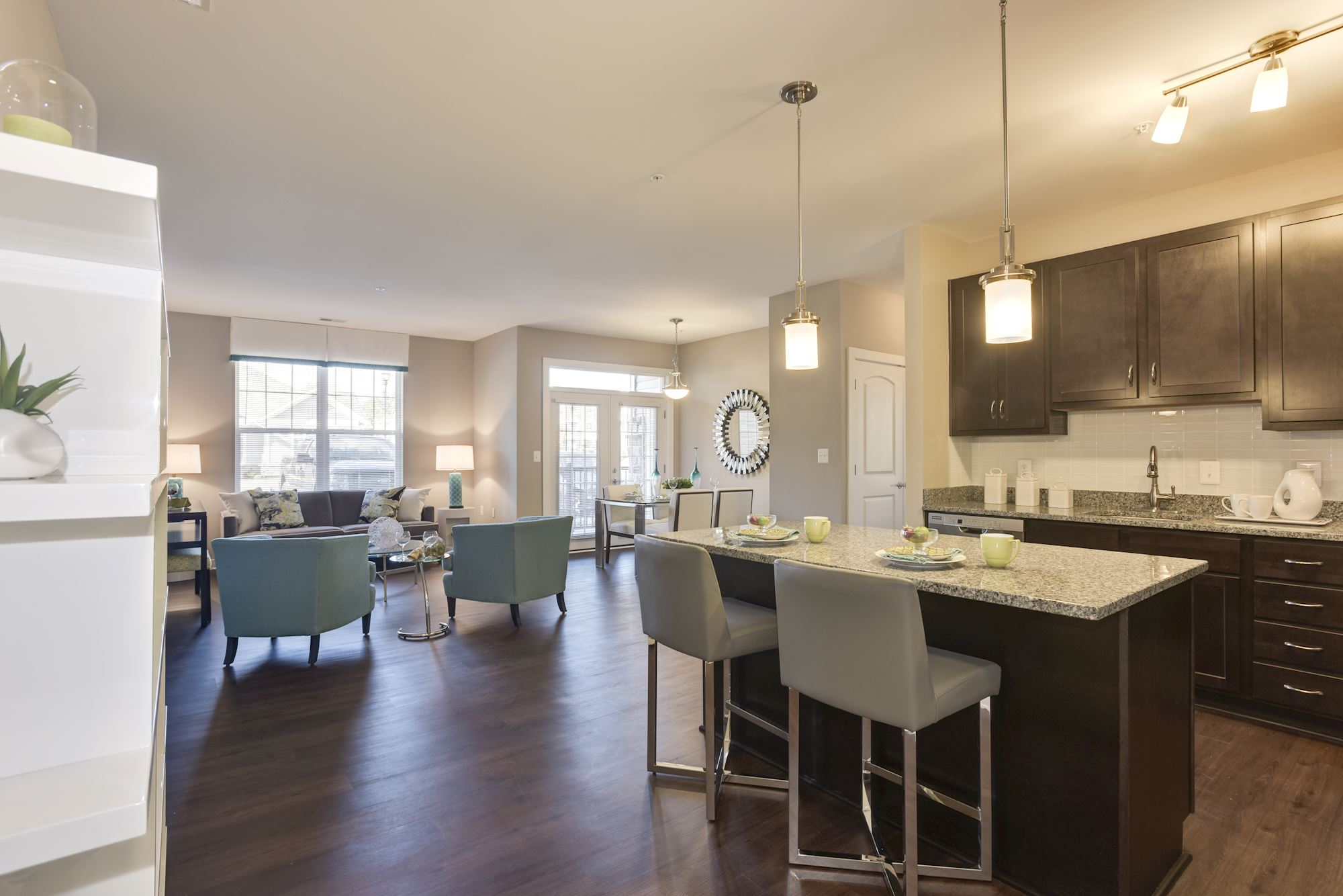 Avanti Luxury Apartments in Bel Air, MD - Designer Kitchen