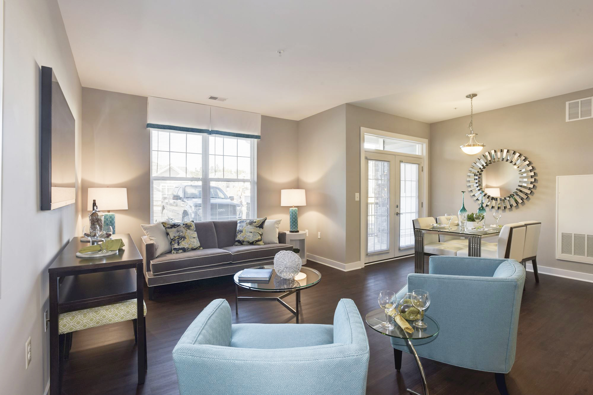 Avanti Luxury Apartments in Bel Air, MD - Living Area