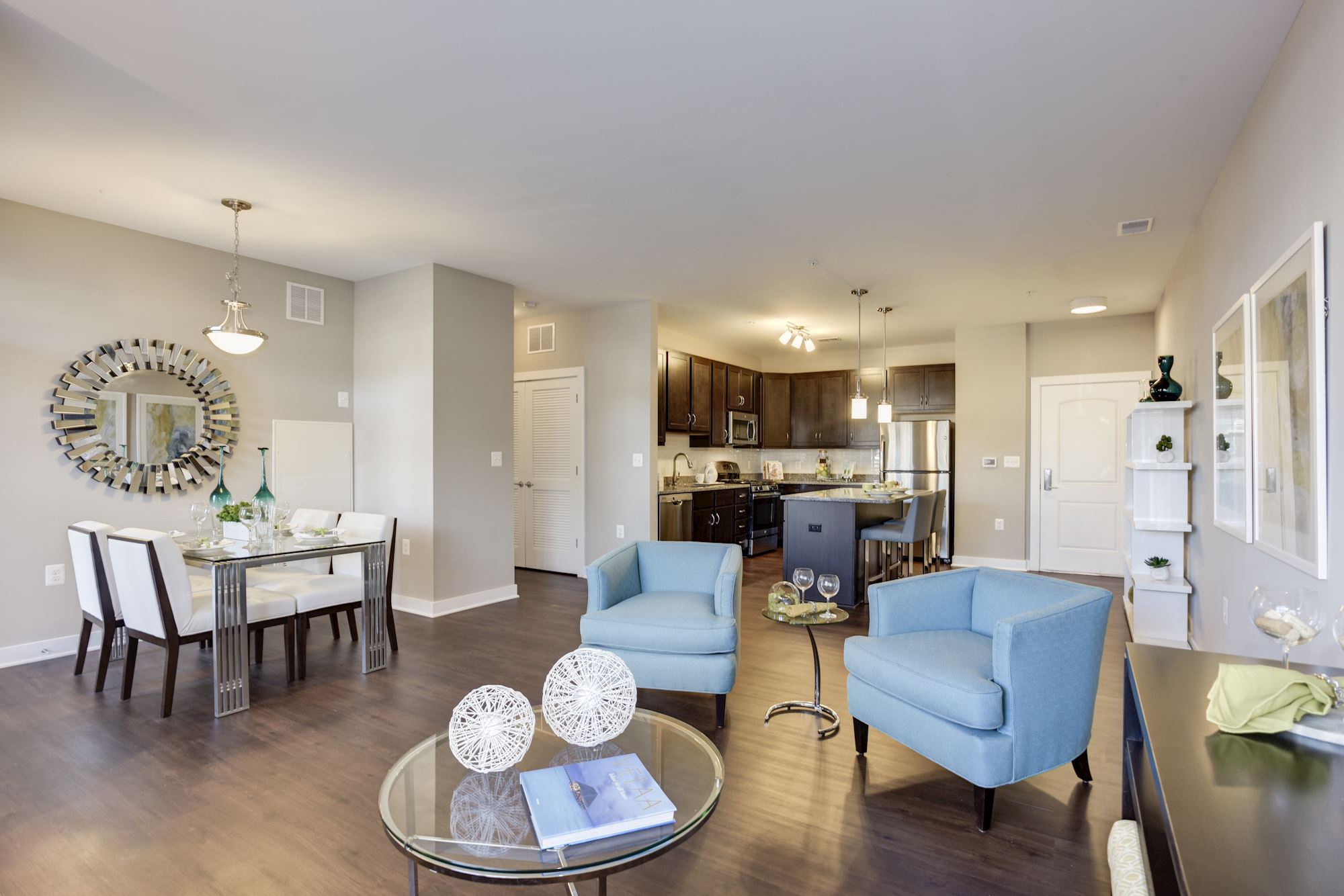 Avanti Luxury Apartments in Bel Air, MD - Living Area 3
