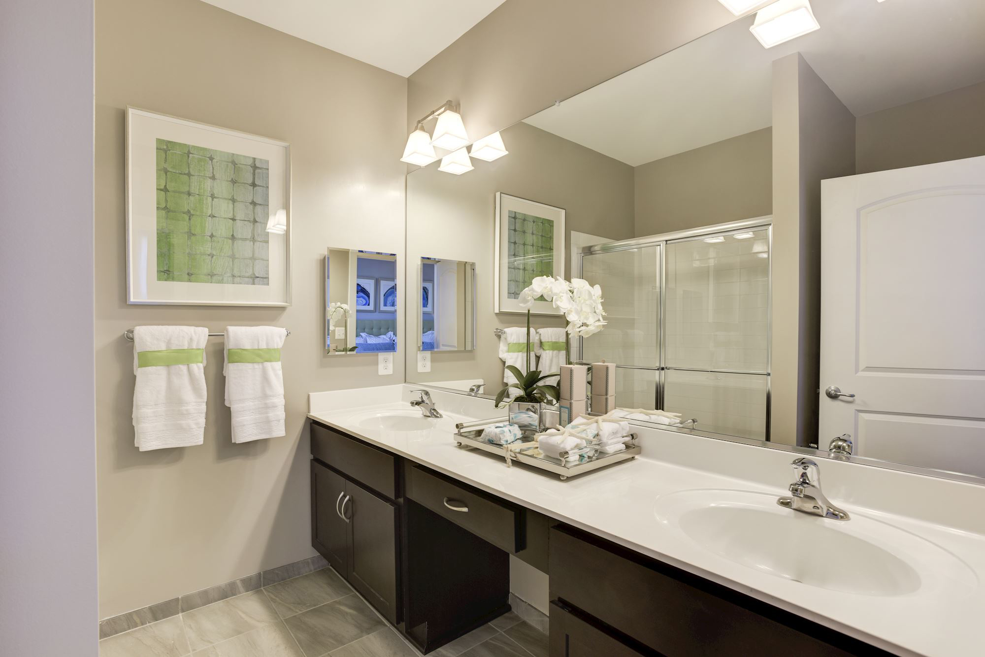 Avanti Luxury Apartments in Bel Air, MD - Master Bathroom