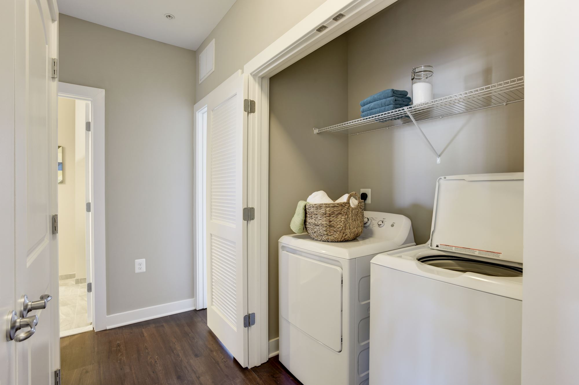 Avanti Luxury Apartments in Bel Air, MD - In-Home Laundry