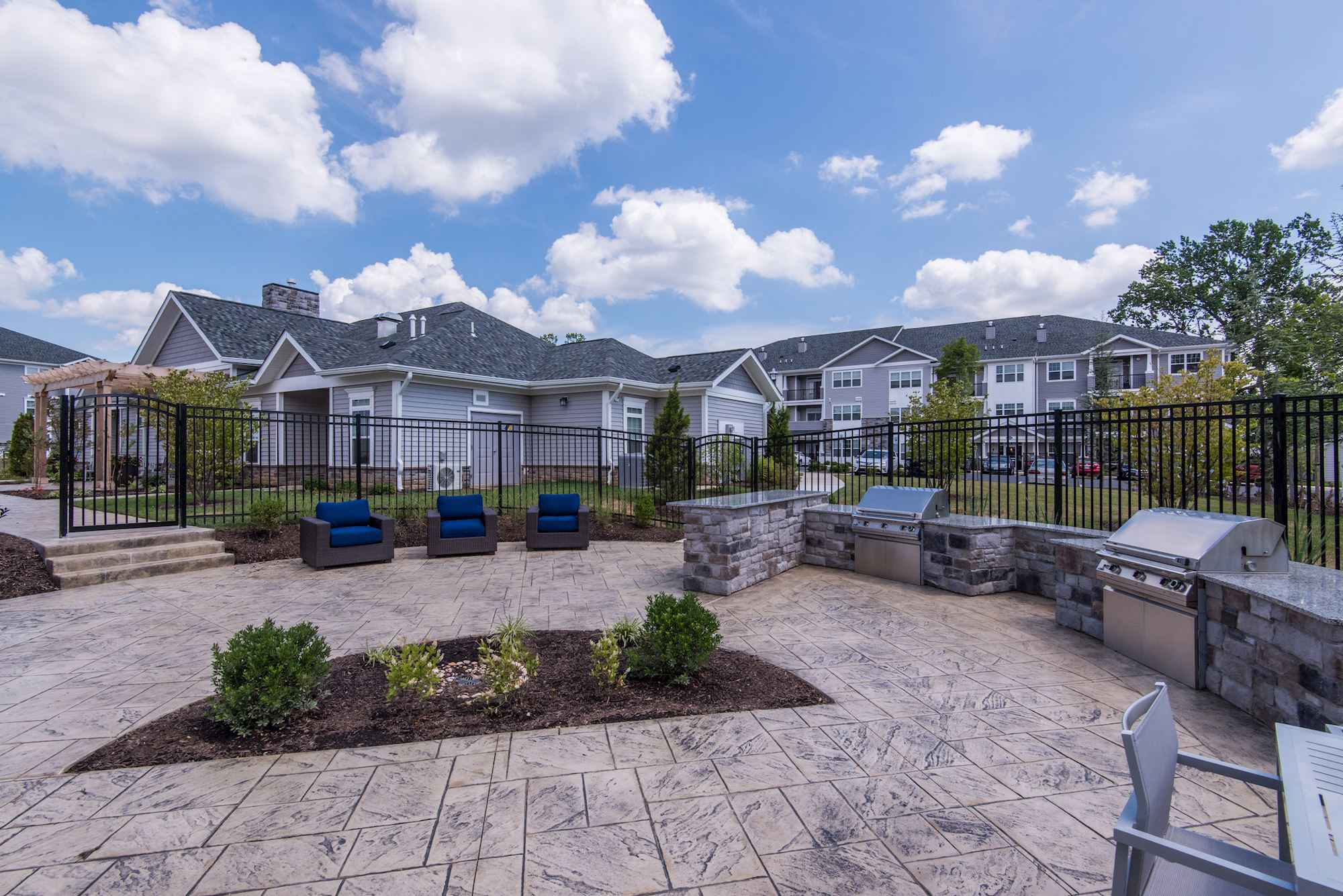 Avanti Luxury Apartments in Bel Air, MD - Outdoor Living Area