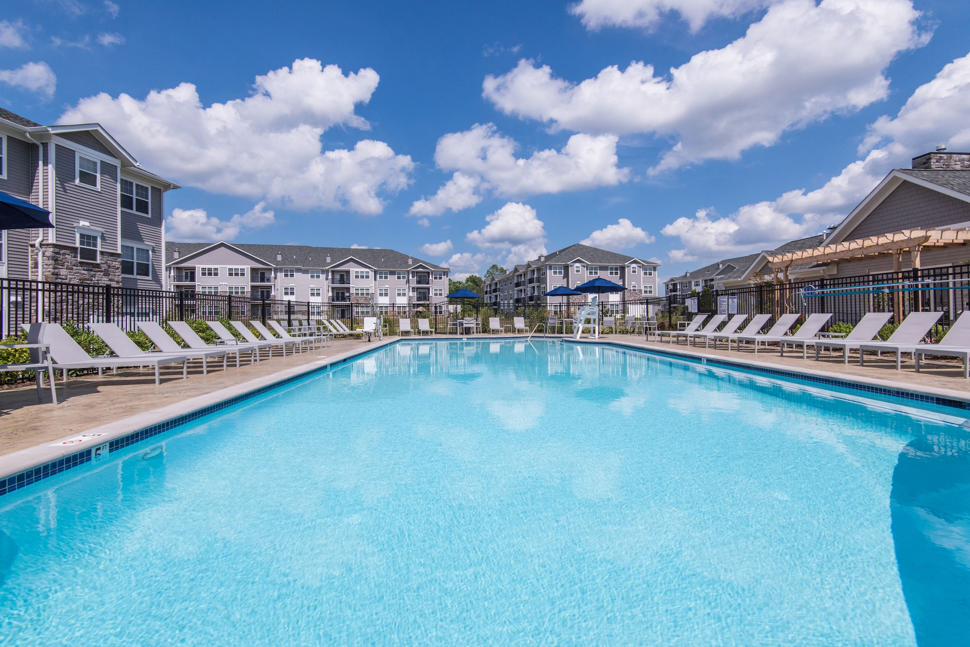 Avanti Luxury Apartments in Bel Air, MD - Resort Style Swimming Pool
