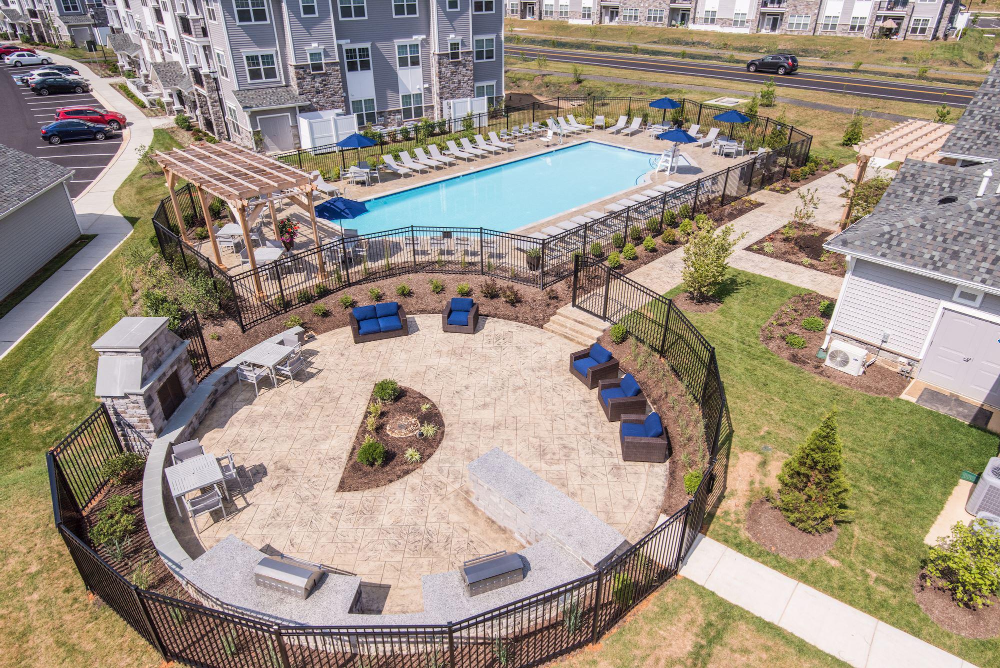 Avanti Luxury Apartments in Bel Air, MD - Outdoor Amenities