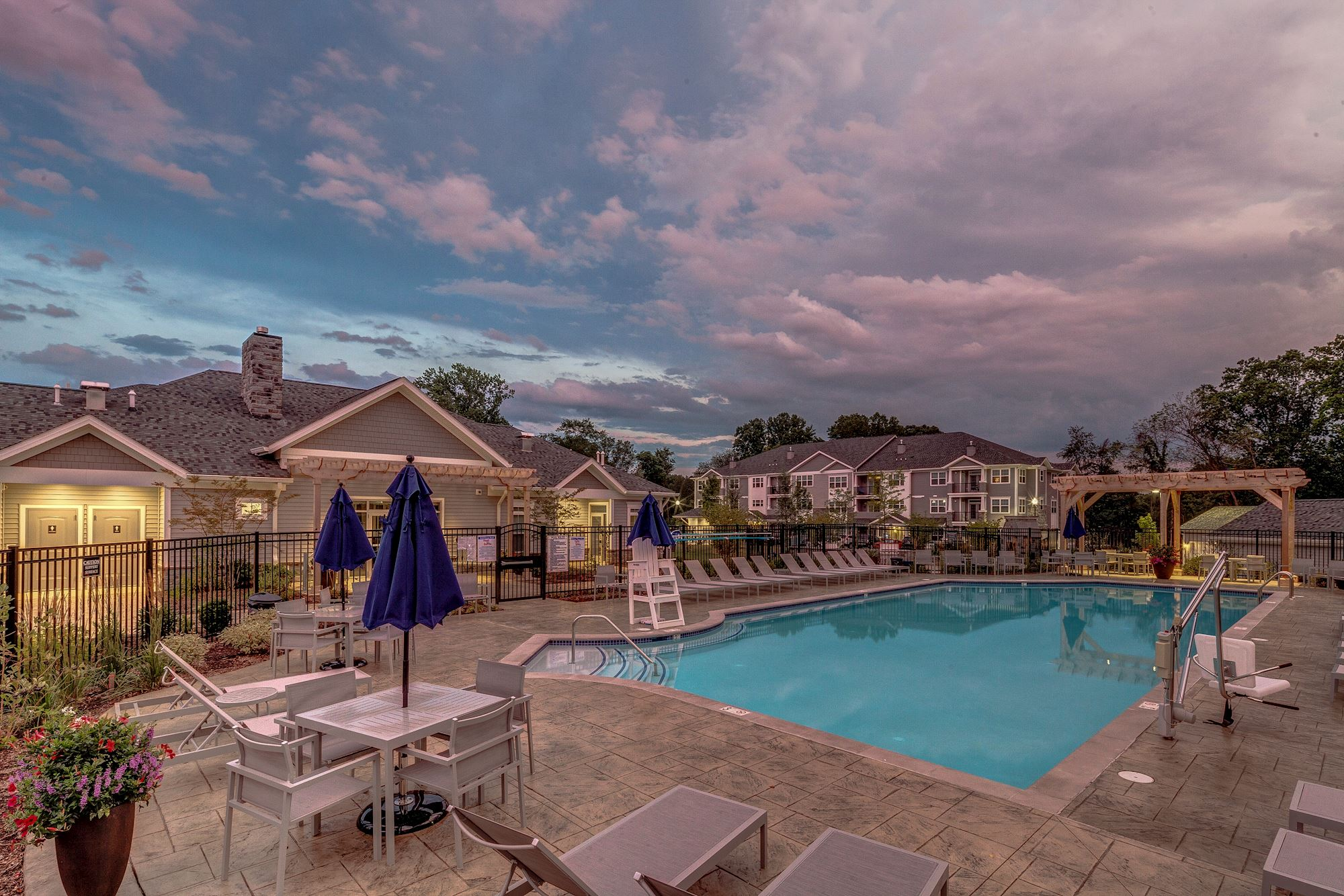 Avanti Luxury Apartments in Bel Air, MD - Swimming Pool